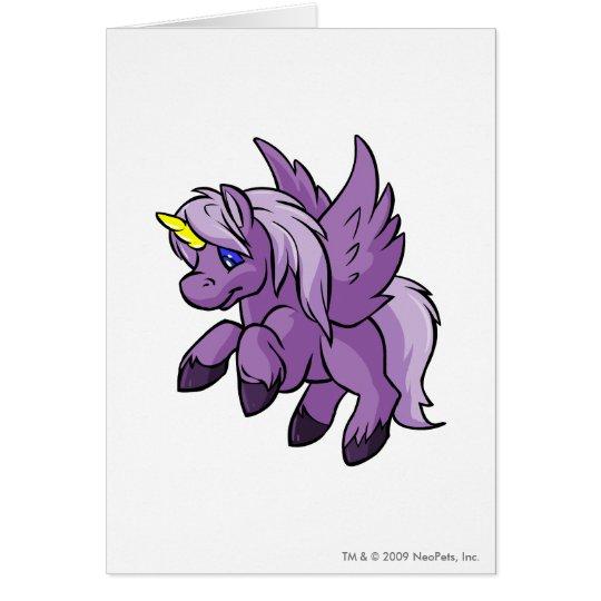 Uni Purple Card