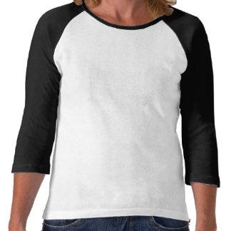 Uni raglán del reloj (para mujer) camisetas