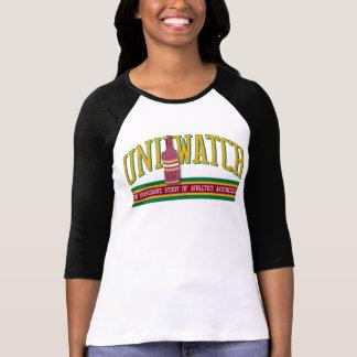 Uni raglán del reloj (para mujer) t-shirt