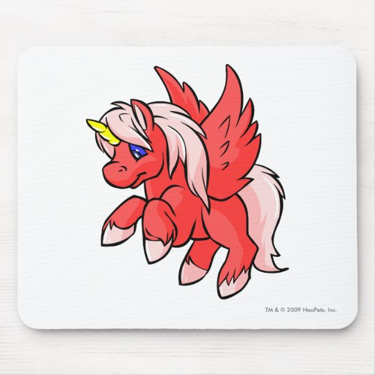 Uni Red Mouse Pad