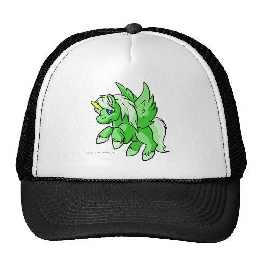 Uni verde gorras de camionero
