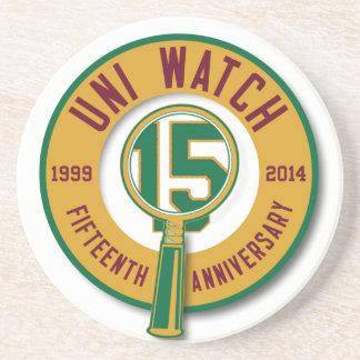 Uni Watch 15th-Anniversary Coaster