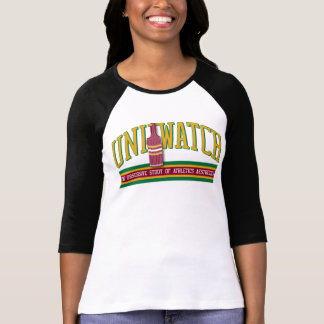 Uni Watch Raglan (womens) Tshirts