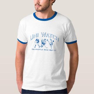 Uni Watch ringer T-Shirt