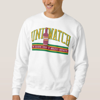 Uni Watch Sweatshirt (white)