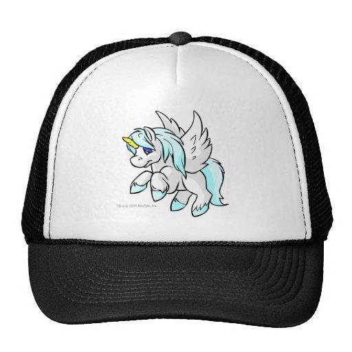 Uni White Mesh Hat