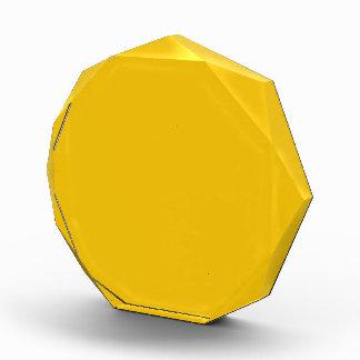 Uni Yellow Acrylic Award