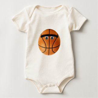 Unibrow Basketball Baby Bodysuit