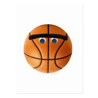 Unibrow Basketball Postcard
