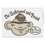 Unibrowed and Proud Cards