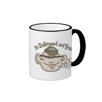 Unibrowed and Proud Ringer Mug