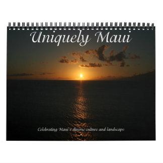 Únicamente calendario de Maui