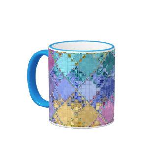 Único brillante y adaptable coloridos taza a dos colores