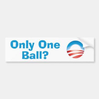 Único de LOL Obama conseguido una bola Pegatina Para Auto