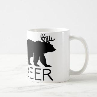 Único divertido del oso de la cerveza taza
