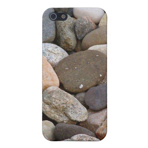 Único hermoso de las piedras de las rocas toda la  iPhone 5 funda