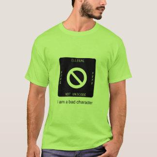 Unicode Invalid Character T-Shirt