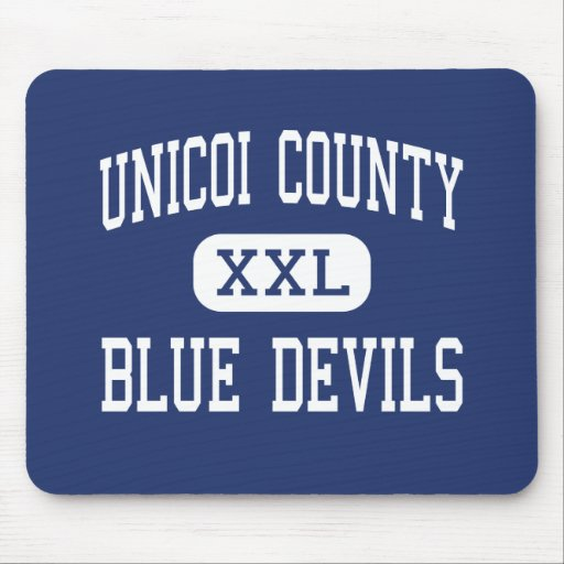 Unicoi County - Blue Devils - High - Erwin Mouse Pad