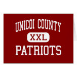 Unicoi County - Patriots - Middle - Erwin Cards