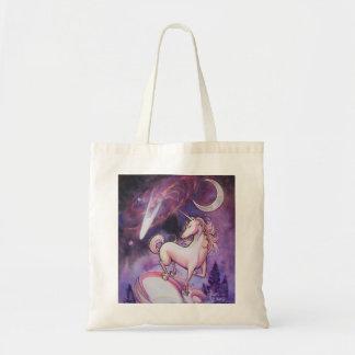 Uniconrn and Night Sky Tote Bag