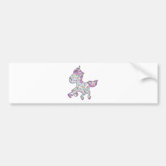 unicorn21 bumper sticker