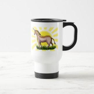 Unicorn 15 Oz Stainless Steel Travel Mug