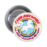 Unicorn 1982 - Club Awesome Pinback Buttons