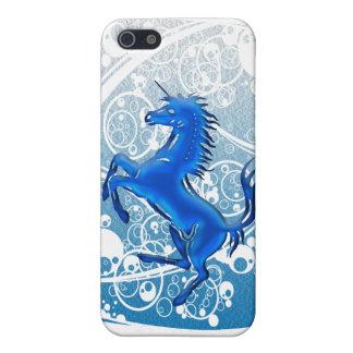 Unicorn 1 blue iPhone SE/5/5s cover
