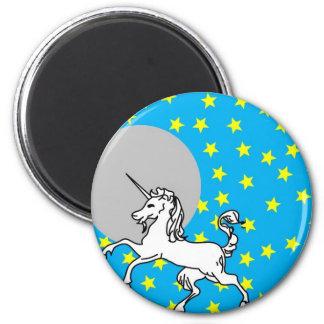 Unicorn 2 Inch Round Magnet