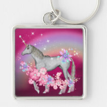 fantasy, keychain, love, birthday, unicorn, car, sweet-16, Keychain with custom graphic design