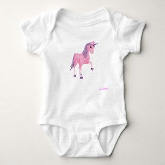 Unicorn 33 baby bodysuit