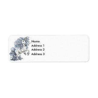 Unicorn, Address 3, Address 2, Address 1, Name Label