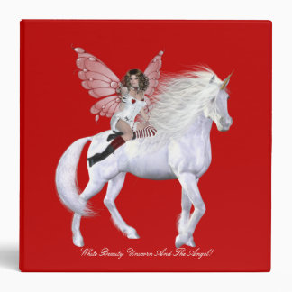 Unicorn And Angel Avery Binder