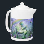 """unicorn and butterflies teapot<br><div class=""""desc""""></div>"""