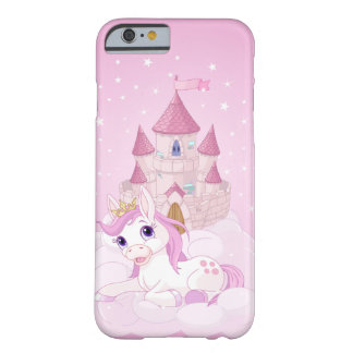 Unicorn and Castle Barely There iPhone 6 Case