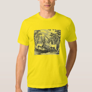 Unicorn and Deer Stag T-shirt