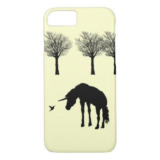 Unicorn and Humminbird iPhone 7 Case