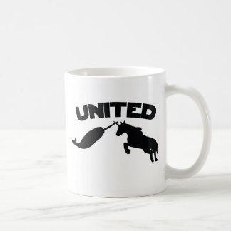 Unicorn and Narwhal Classic White Coffee Mug