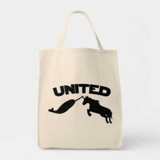 Unicorn and Narwhal Tote Bag