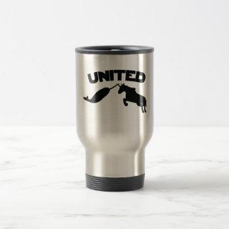 Unicorn and Narwhal Travel Mug