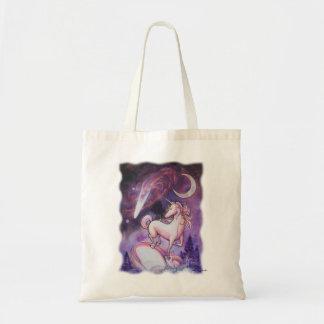 Unicorn and Night Sky Tote Bag