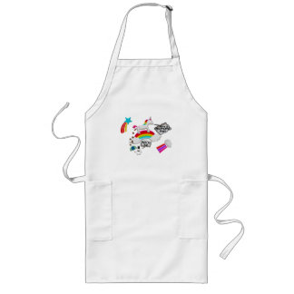 Unicorn And Penguin Craptastic Day Long Apron