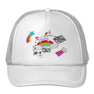 Unicorn And Penguin Craptastic Day Trucker Hat