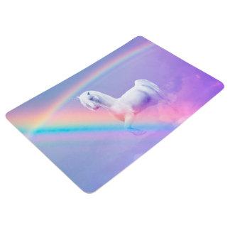 Unicorn and Rainbow Floor Mat