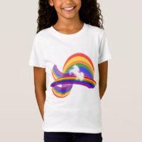 UNICORN AND RAINBOW T-Shirt