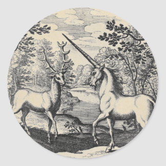 Unicorn and Stag Stickers