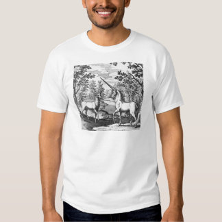 Unicorn and Stag T Shirt