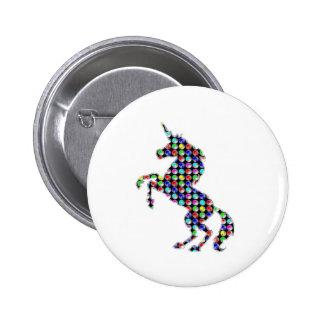 UNICORN animal fantasy dot kids navinJOSHI NVN90 Buttons