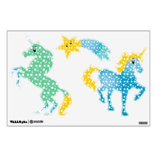 Unicorn Any Color Baby Girl's Room Room Sticker