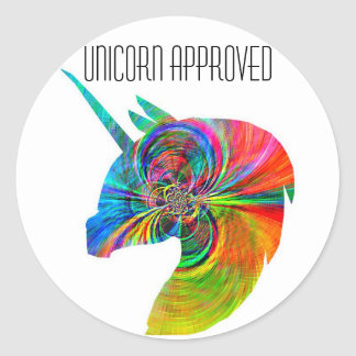 Unicorn Approved Sticker